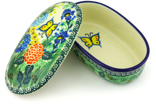 "2"" Oval Box - Spring Garden 