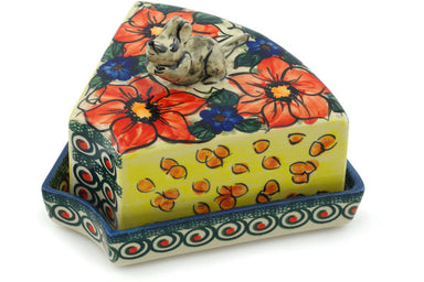 "8"" Mouse Cheese Dish - P5702A 