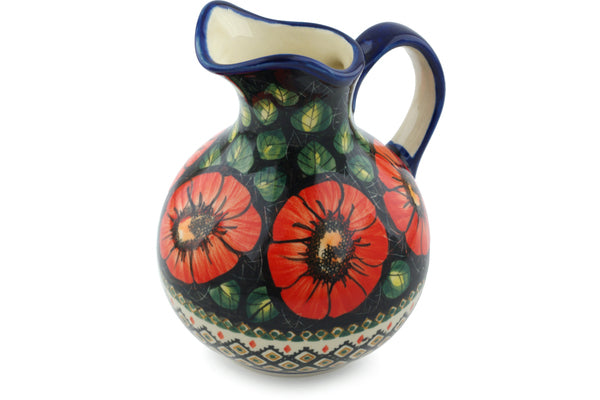 5 cup Pitcher - P4796A | Polish Pottery House