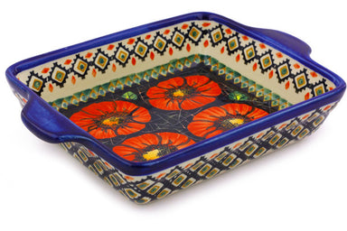 "6"" x 9"" Rectangular Baker with Handles - P4796A 