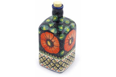 18 oz Bottle - P4796A | Polish Pottery House