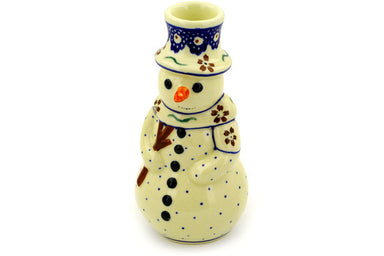 "7"" Snowman Candle Holder - 864 