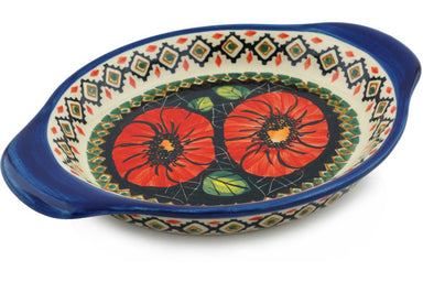"9"" Platter with Handles - P4796A 