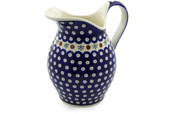 8 cup Pitcher - Old Poland | Polish Pottery House
