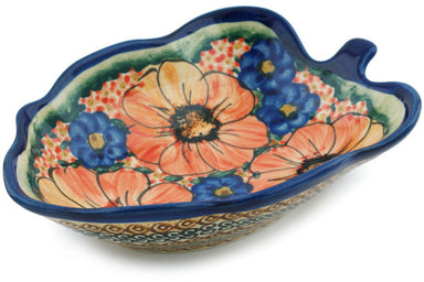 "8"" Leaf Bowl - Autumn Wonder 
