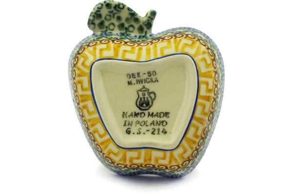 "2"" Apple Bowl - Blue Autumn 