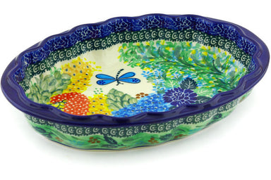 4 cup Serving Bowl - Whimsical | Polish Pottery House