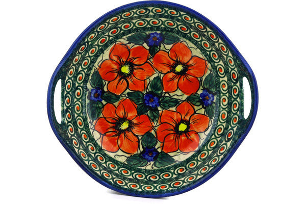 "10"" Serving Bowl with Handles - P5702A 