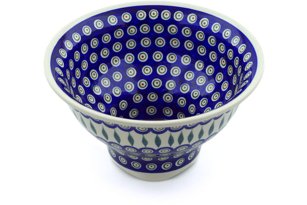 "10"" Serving Bowl - Peacock 