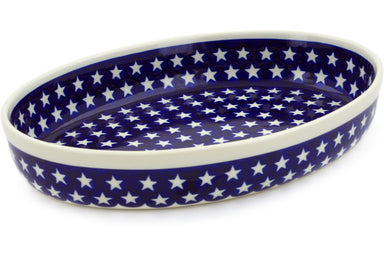 "12"" Oval Baker - Stars 