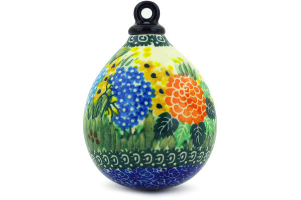 "3"" Ornament Christmas Ball - Spring Garden 
