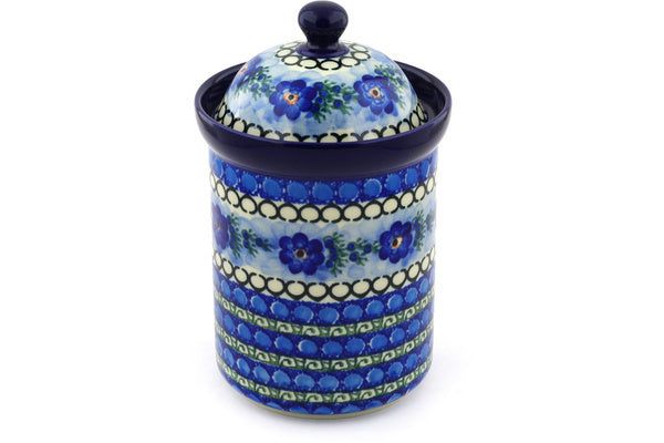 6 cup Canister - U488 | Polish Pottery House