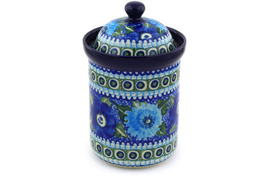 6 cup Canister - U586 | Polish Pottery House