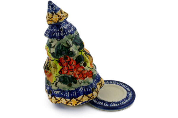"8"" Christmas Tree Candle Holder - P4794A 
