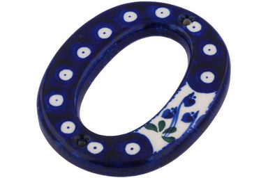 "4"" #0 Hanging Number with hole - 377O 