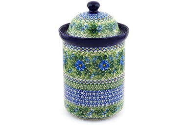 8 cup Canister - U1012 | Polish Pottery House