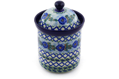 5 cup Canister - U1573 | Polish Pottery House