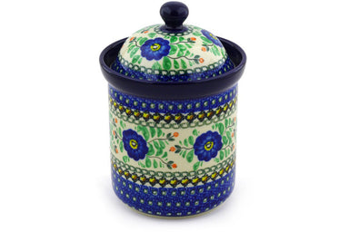 5 cup Canister - U440 | Polish Pottery House