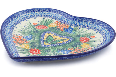 "9"" Heart Platter - U3756 