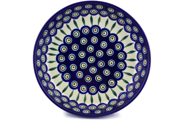 ... 10  Pie Plate - Blue Peacock | Polish Pottery House ...  sc 1 st  Polish Pottery House : 10 pie plate - pezcame.com