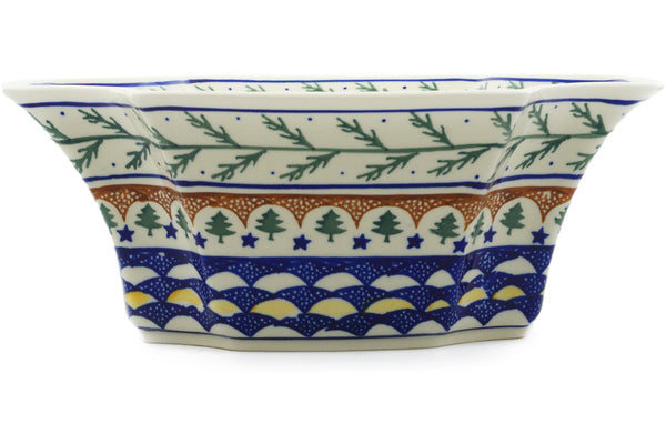 7 cup Serving Bowl - Evergreen | Polish Pottery House
