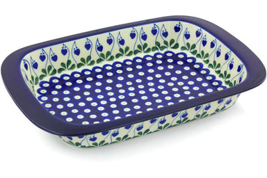 "9"" x 13"" Rectangular Baker - Blue Bell 