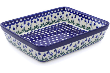 "11"" x 12"" Rectangular Baker - Blue Bell 