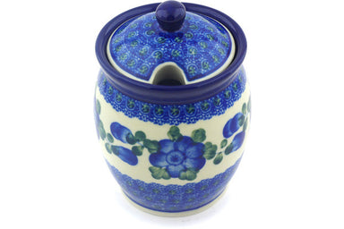 13 oz Sugar Bowl - Heritage | Polish Pottery House