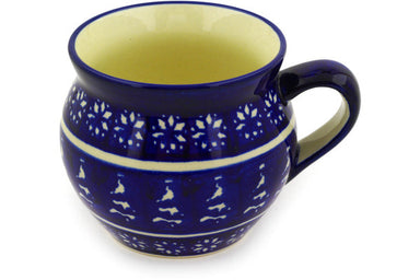 12 oz Bubble Mug - Winter Frost | Polish Pottery House