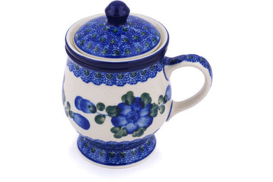 10 oz Brewing Mug - Heritage | Polish Pottery House