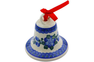 "4"" Bell Ornament - 163 