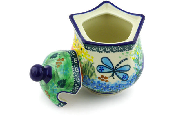 11 oz Sugar Bowl - Whimsical | Polish Pottery House
