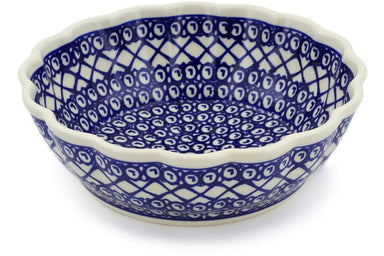 5 cup Fluted Bowl - 102 | Polish Pottery House
