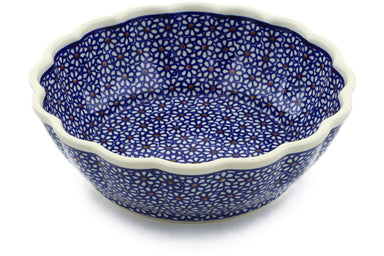 5 cup Fluted Bowl - 120 | Polish Pottery House