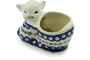 "5"" Bunny Shaped Jar - Old Poland 
