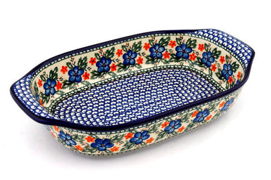 "9"" x 14"" Rectangular Baker with Handles - 906X 