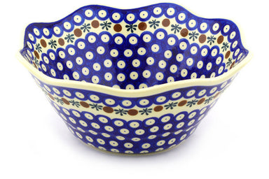 10 cup Fluted Bowl - Old Poland | Polish Pottery House