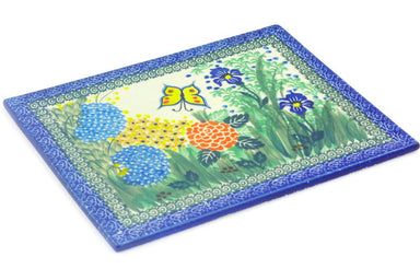 "8"" x 10"" Tile - Spring Garden 