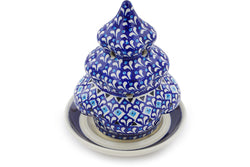 "7"" Christmas Tree Candle Holder - 217A 