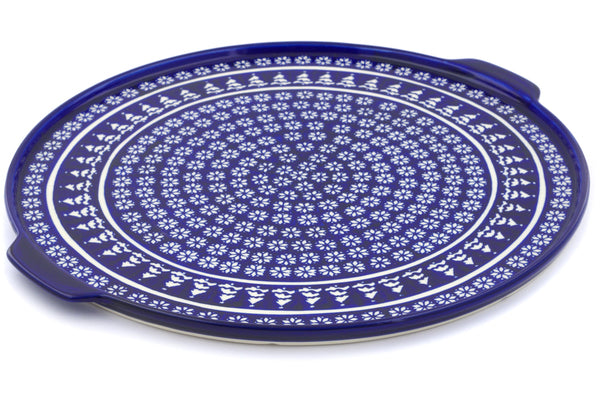 "16"" Pizza Plate - Winter Frost 