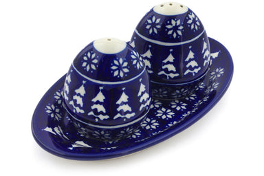 "3"" Salt and Pepper Shakers - Winter Frost 
