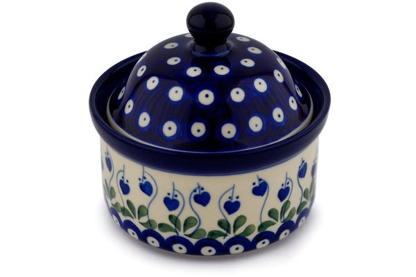 "5"" Round Box - Blue Bell 
