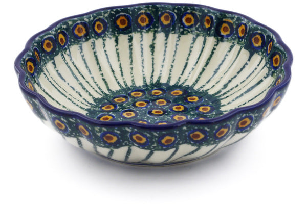 2 cup Scalloped Serving Bowl - 23AX | Polish Pottery House