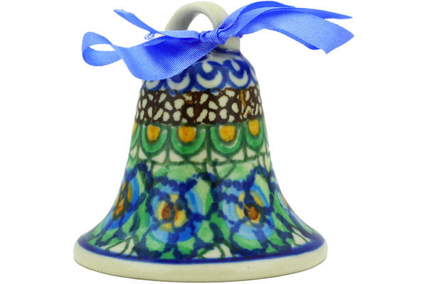 "3"" Bell Ornament - Moonlight Blossom 