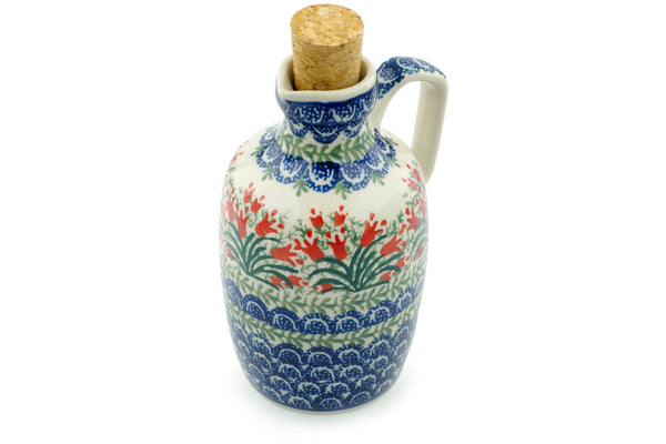 18 oz Bottle - 1437 | Polish Pottery House