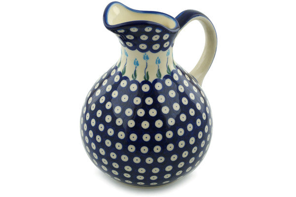 10 cup Pitcher - D107 | Polish Pottery House