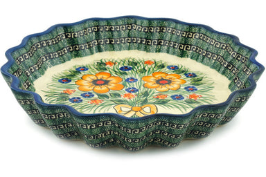 "12"" Fluted Pie Plate - P6058A 