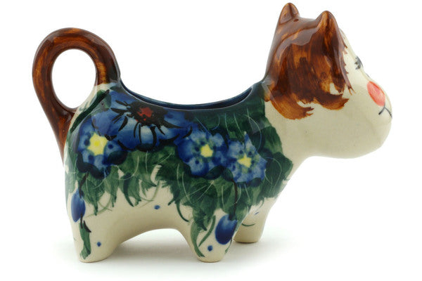 1 oz Cow Shaped Creamer - P5712A | Polish Pottery House