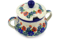 11 oz Sugar Bowl - 1535X | Polish Pottery House