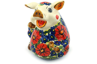 "7"" Piggy Bank - P6349A 